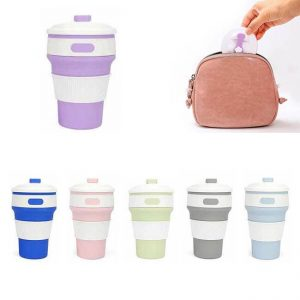 Collapsible Silicone cups