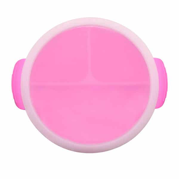 Silicone smiling face bowl