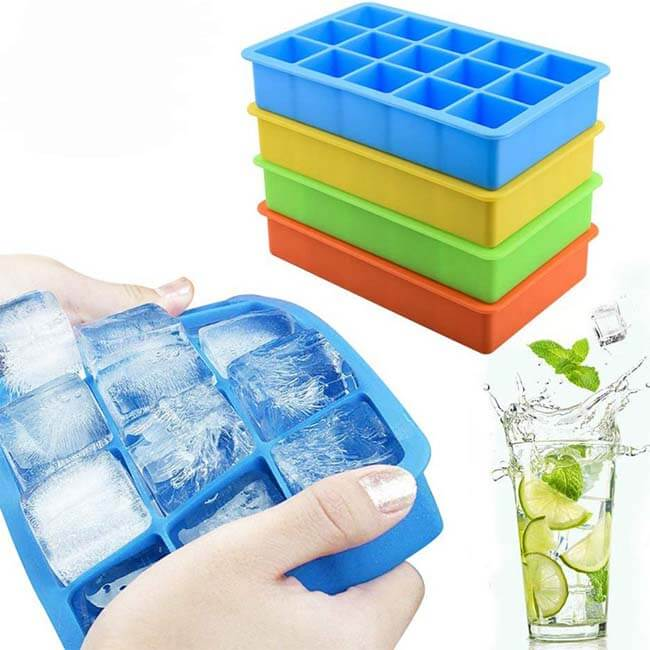 Silicone Ice Cube Trays