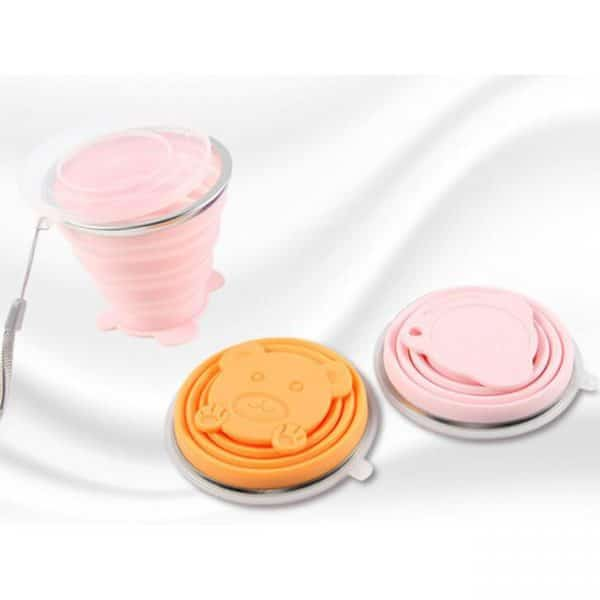 folding silicone water cup