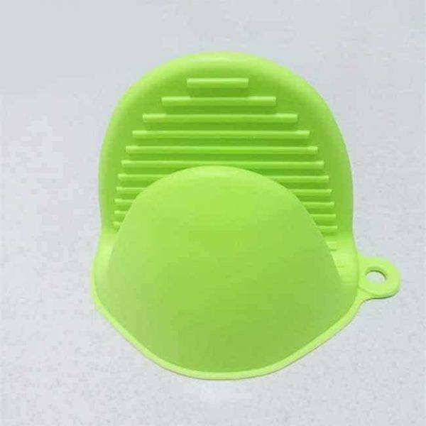 Green Silicone Pot Holder