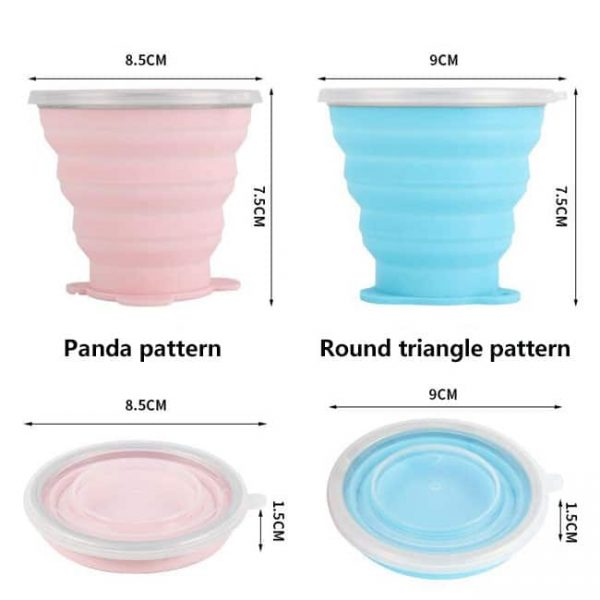 Collapsible Silicone Cup Size