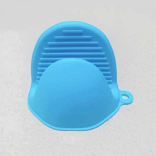 Blue Silicone Pot Holder