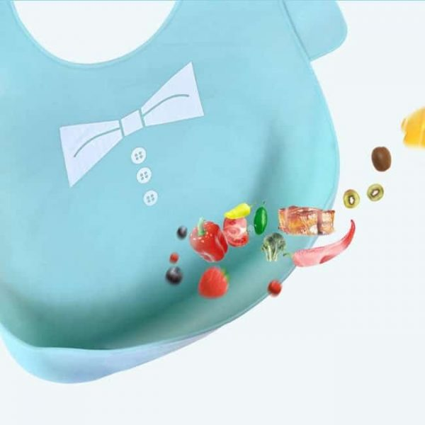 Silicone Bibs with crumb catcher