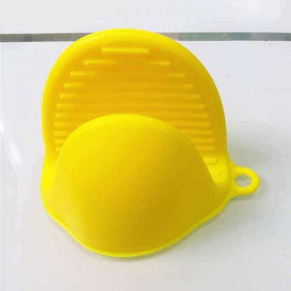Yellow Silicone Pot Holder