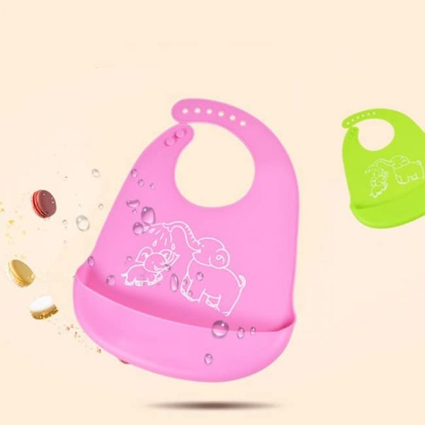 waterproof silicone bib