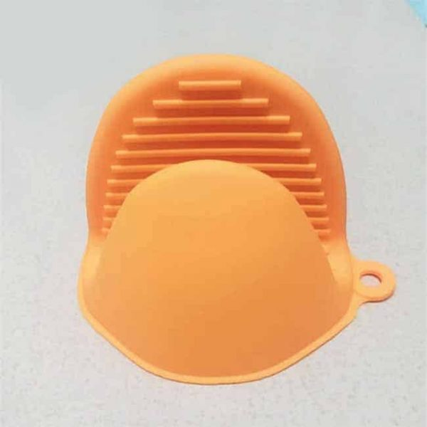 Orange Silicone Pot Holder
