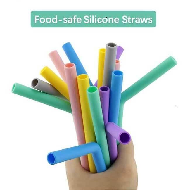Silicone Drinking Straw