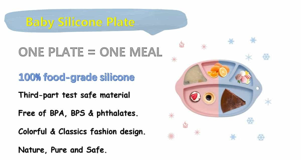 Silicone divided Plates