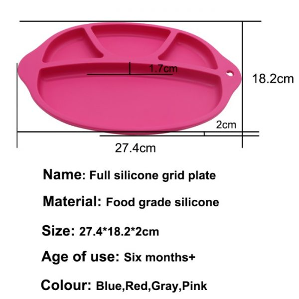 silicone plate size