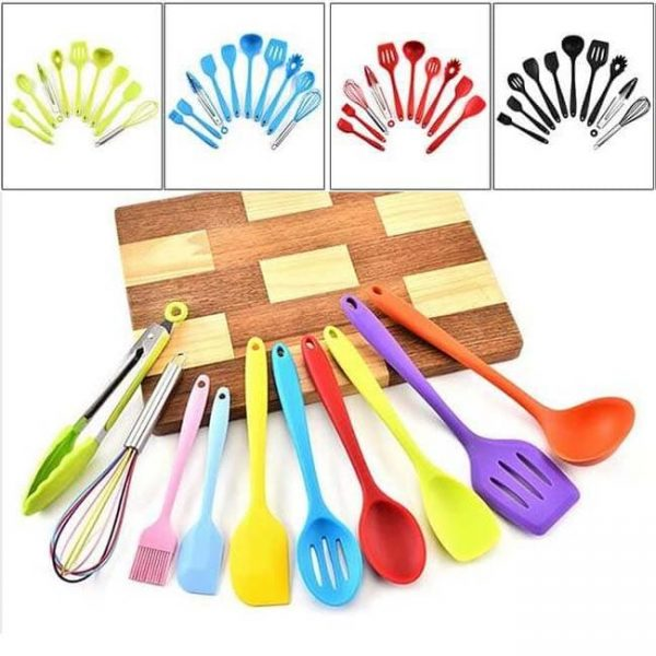 Silicone kitchen utensil