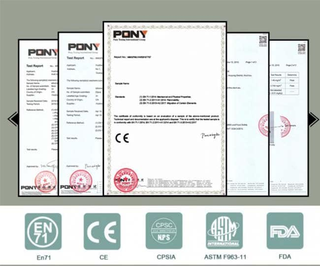 Silicone certification, Inspection Report