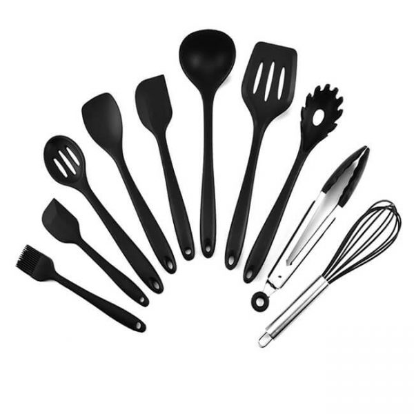 black Silicone Cooking Utensil