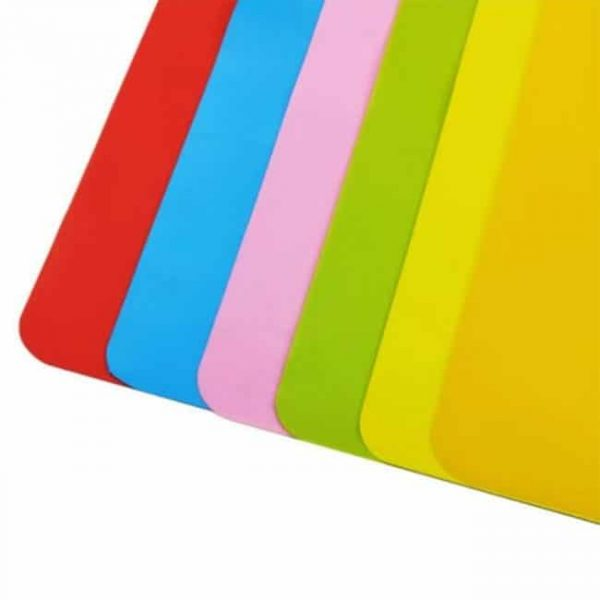 silicone placemat detail