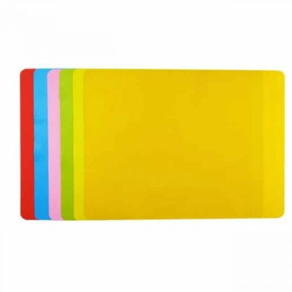 6 colors Silicone Placemat