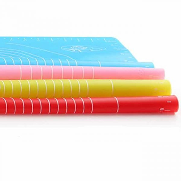 silicone mat side view