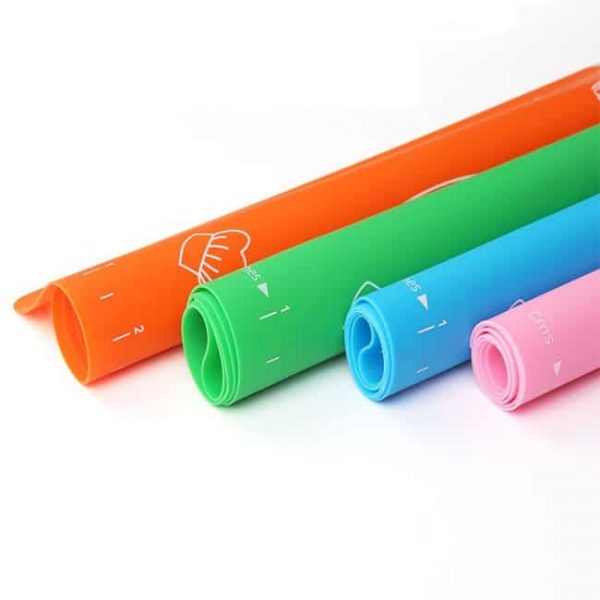 4 color roll silicone mat