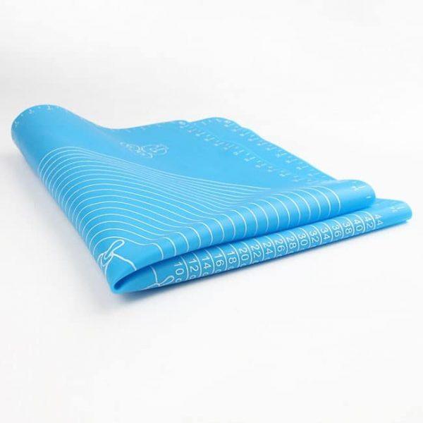 folding silicone mat
