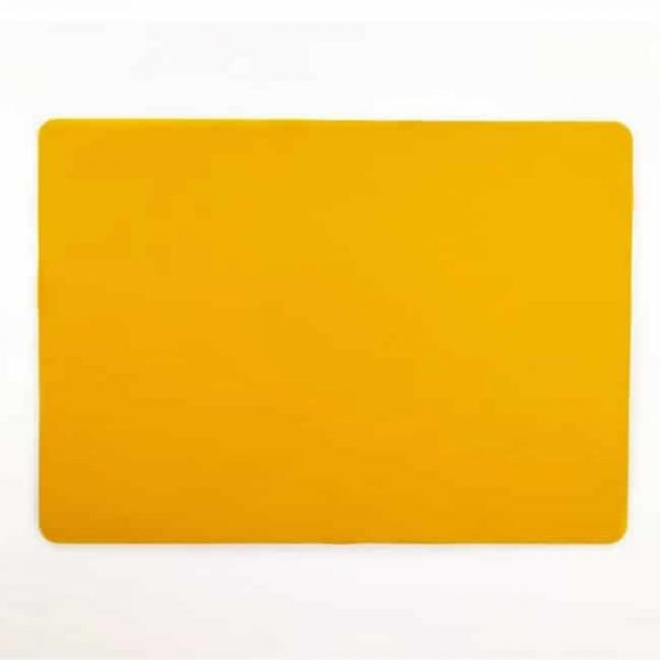 orange silicone mat