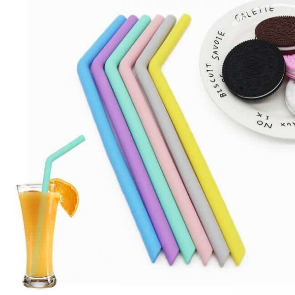 food-safe reusable silicone straw