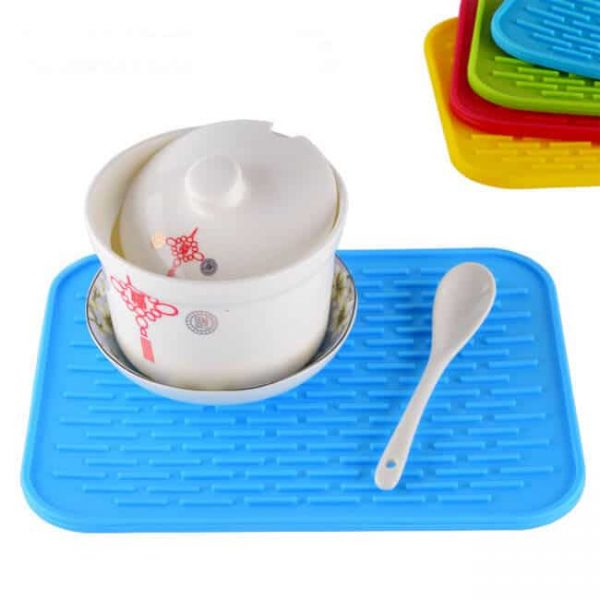 silicone cup coasters mat