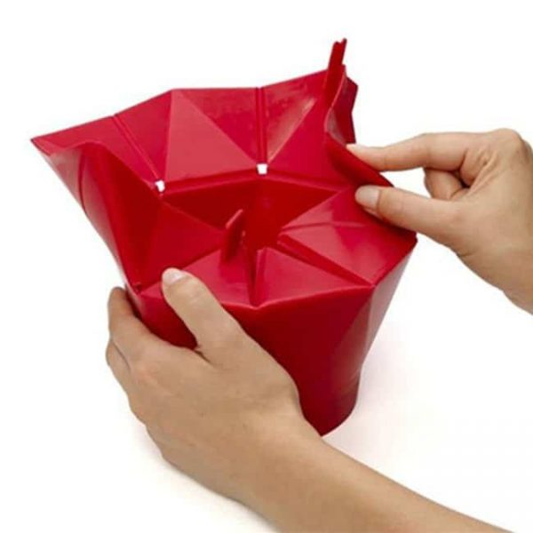Folding Popcorn Bowl