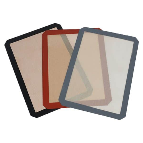 silicone baking mats colors