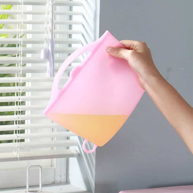 silicone reusable bags does not leak