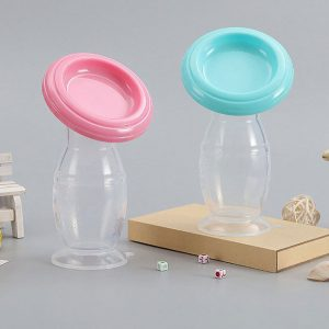 Silicone breast pump cover