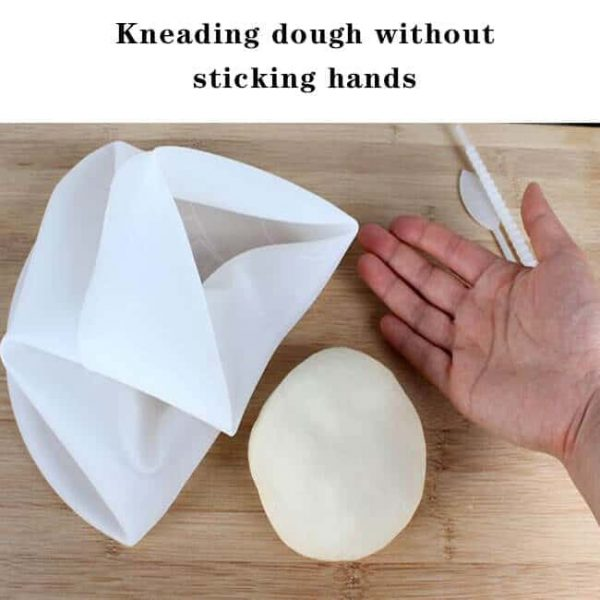 Flour Pouch Soft Porcelain Silicone Kneading Dough Bag