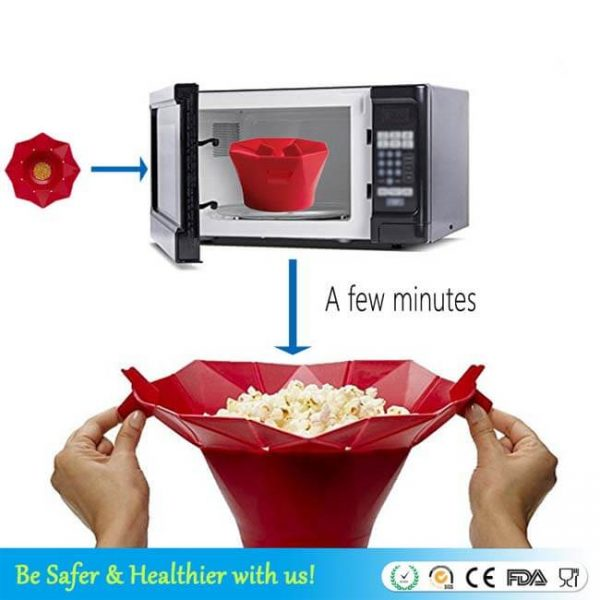 How to use popcorn bowl
