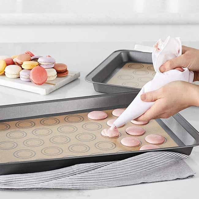 silicone cooking mat