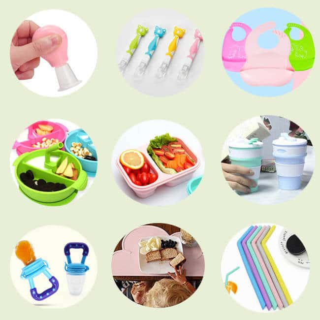 Types of Silicone dinnerware
