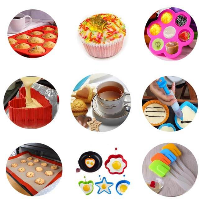 Types of silicone bakeware