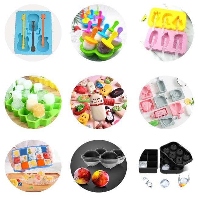 Types of Silicone Ice Cube Trays