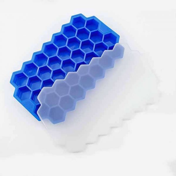 silicone honeycomb ice cube trays