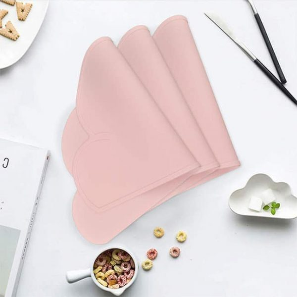 Foldable Silicone kids placemat
