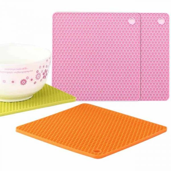 Square Honeycomb Silicone Cushion