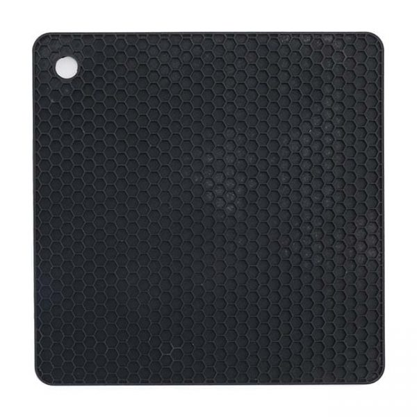 black square silicone cushion