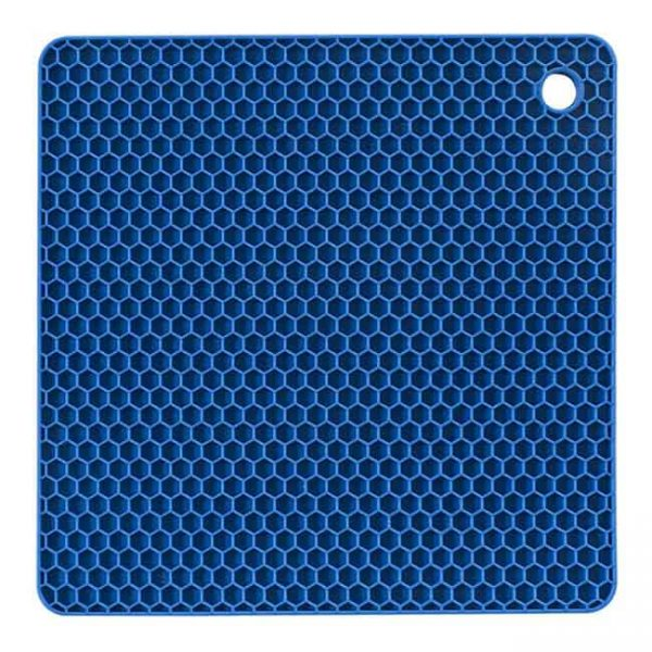 blue silicone cushion