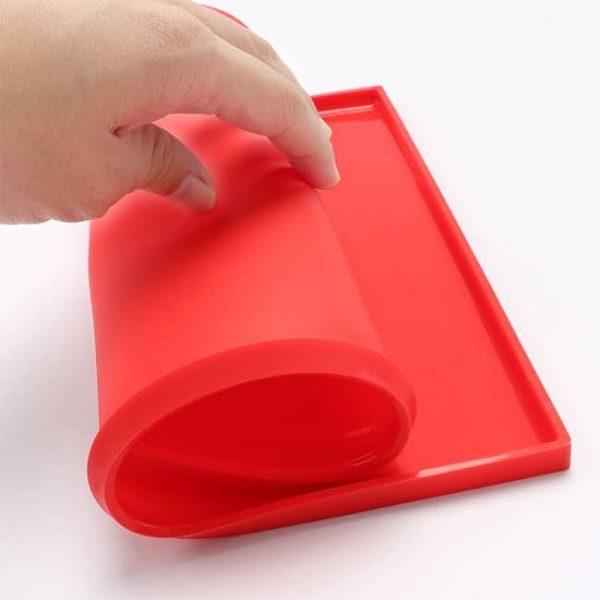 flexible silicone baking tray
