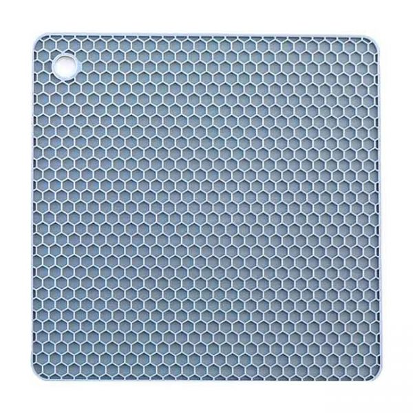 gray square silicone cushion
