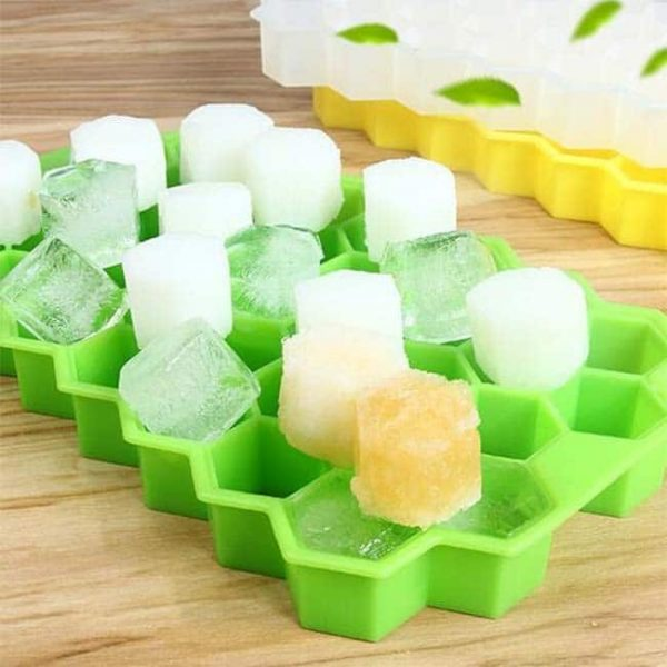 honeycomb silicone ice tray jelly