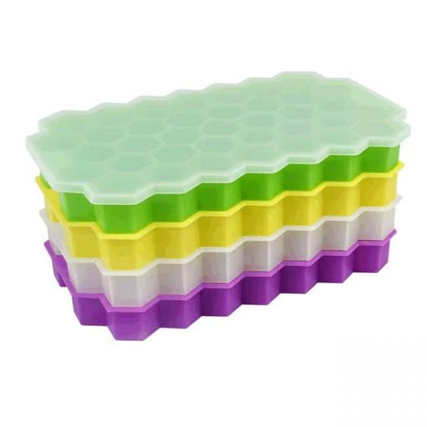 honeycomb silicone ice tray stack up