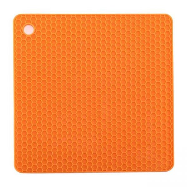 orange square silicone cushion