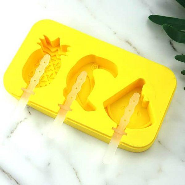 popsicle molds yellow