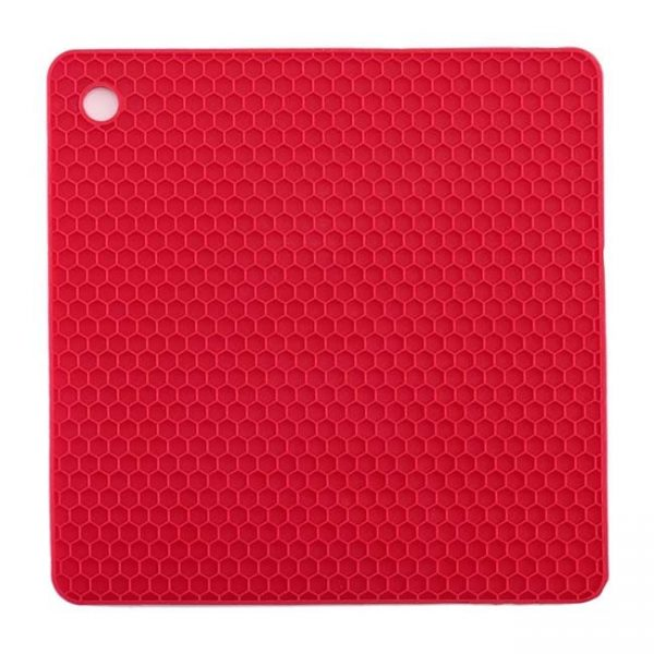 red silicone cushion