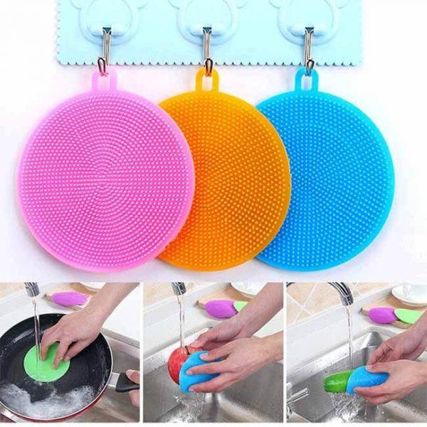 silicone scrubber wash