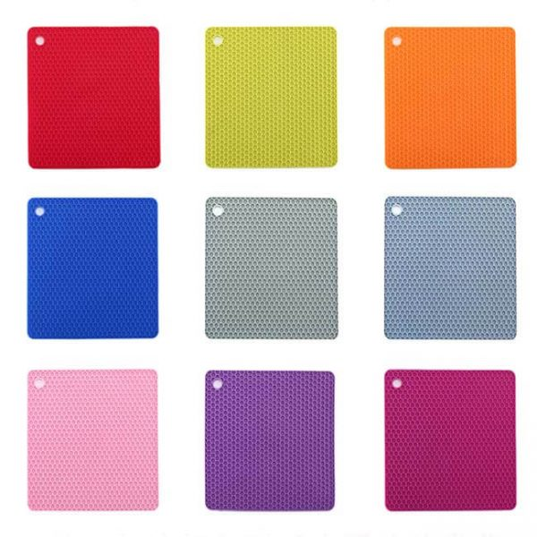 square honeycomb silicone cushion colors