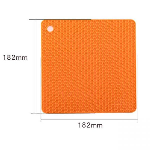 square silicone cushion size